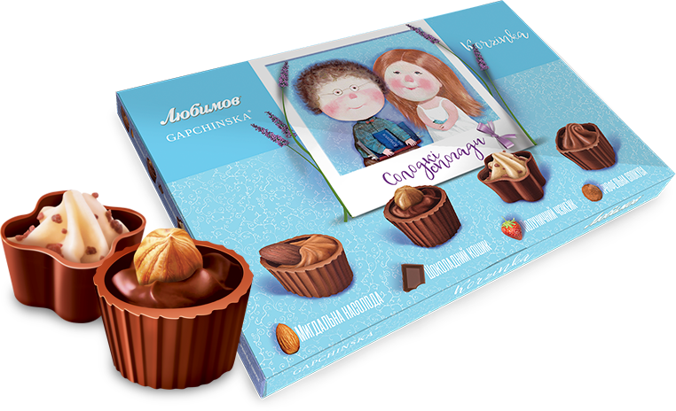 "Chocolates ""Lubimov Corf"""