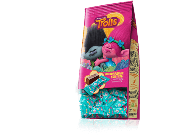 Chocolate series Trolls