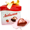 Candy Lubimov - gentle milk chocolate stuffed with strawberry yogurt
